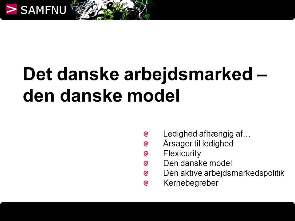 Det danske arbejdsmarked – den danske model