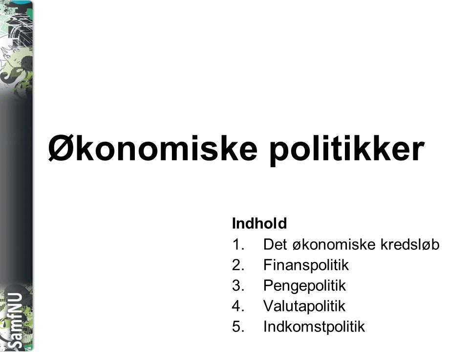 Økonomiske politikker