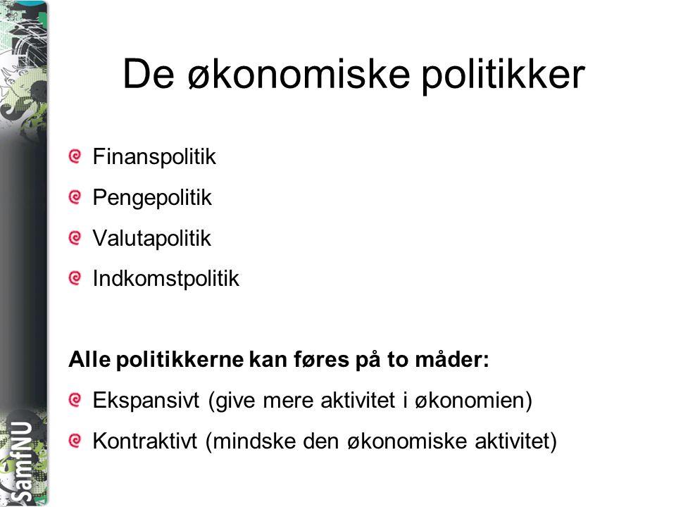 De økonomiske politikker