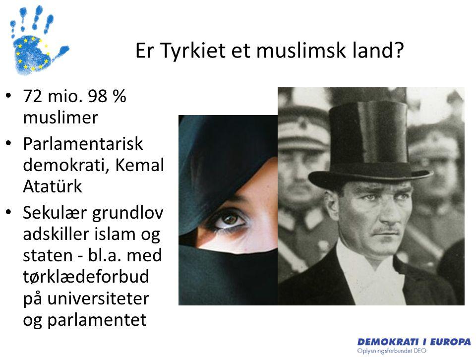 Er Tyrkiet et muslimsk land