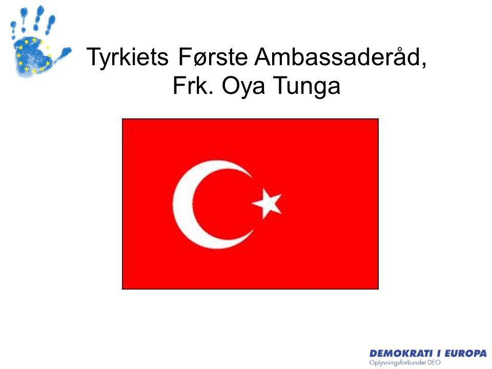 Tyrkiets Første Ambassaderåd,