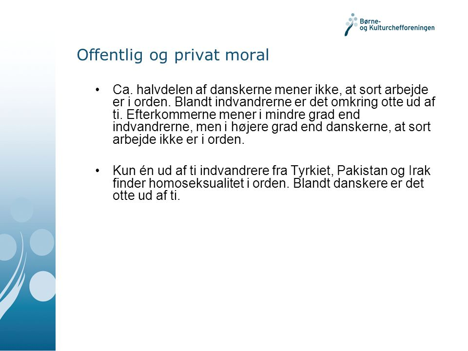 Offentlig og privat moral