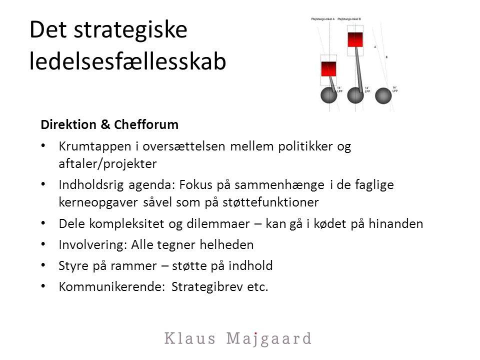 Det strategiske ledelsesfællesskab