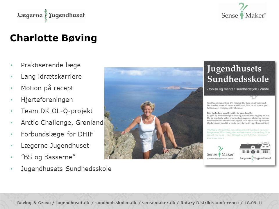 Charlotte Bøving Praktiserende læge Lang idrætskarriere