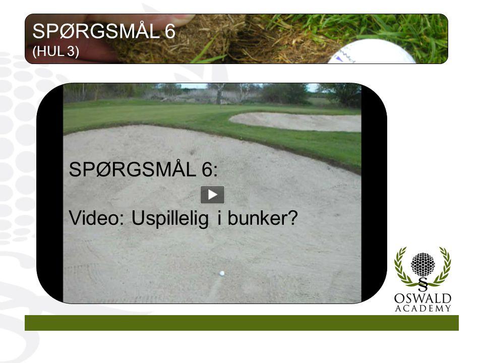 Video: Uspillelig i bunker