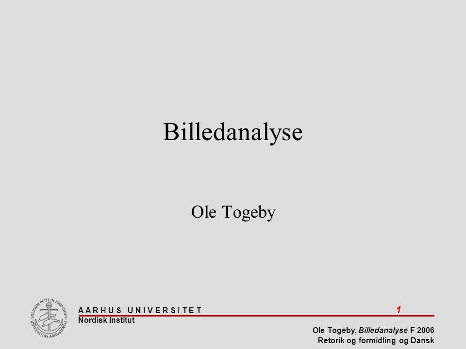 Billedanalyse Ole Togeby