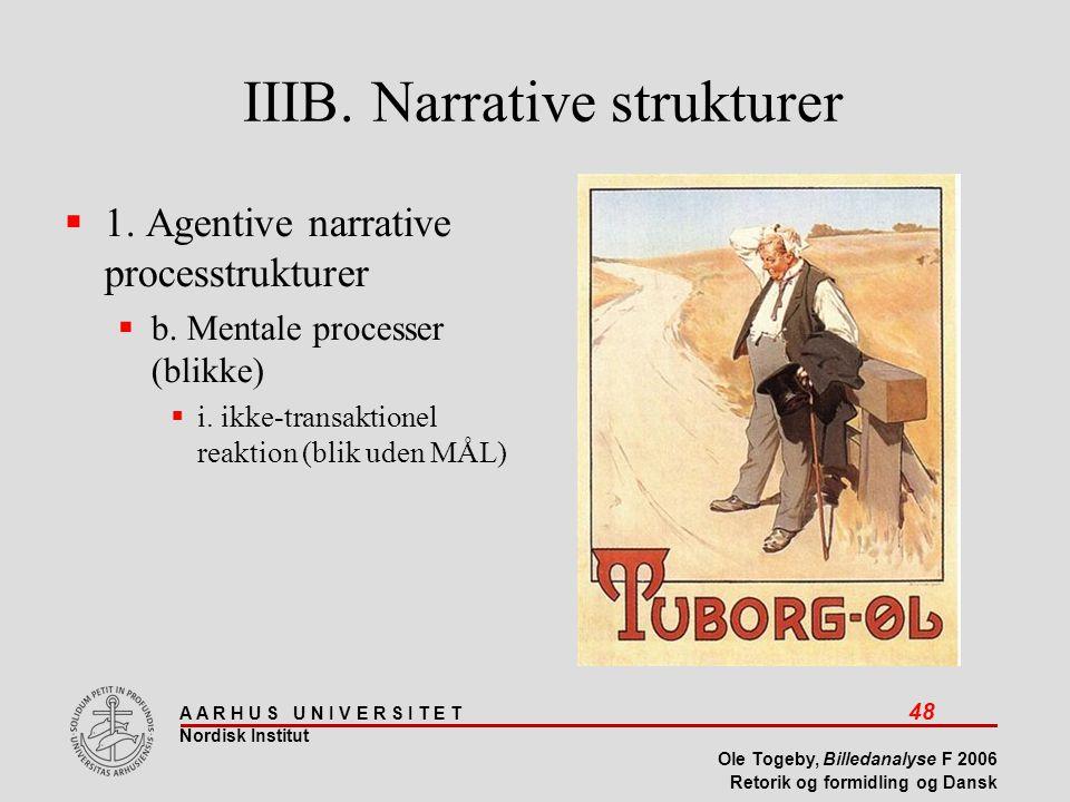 IIIB. Narrative strukturer