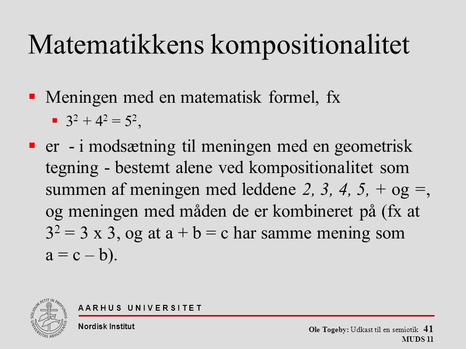 Matematikkens kompositionalitet