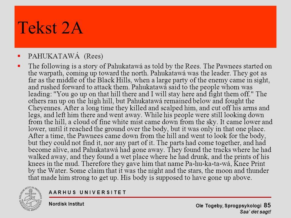 Tekst 2A PAHUKATAWÁ (Rees)