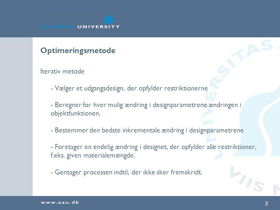 Optimeringsmetode Iterativ metode