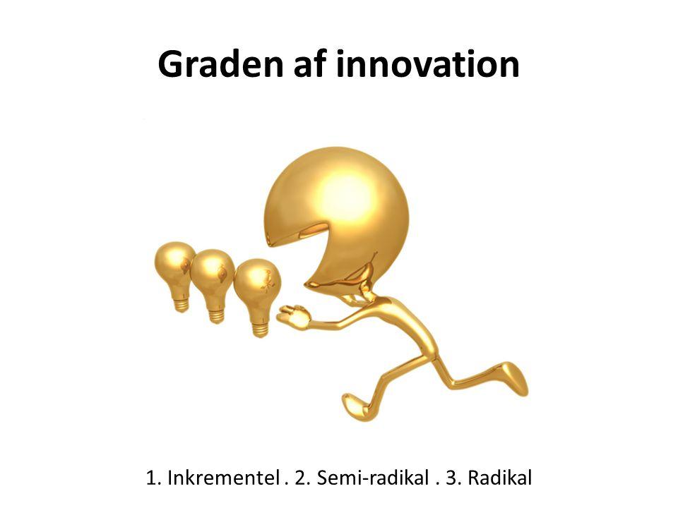 1. Inkrementel . 2. Semi-radikal . 3. Radikal