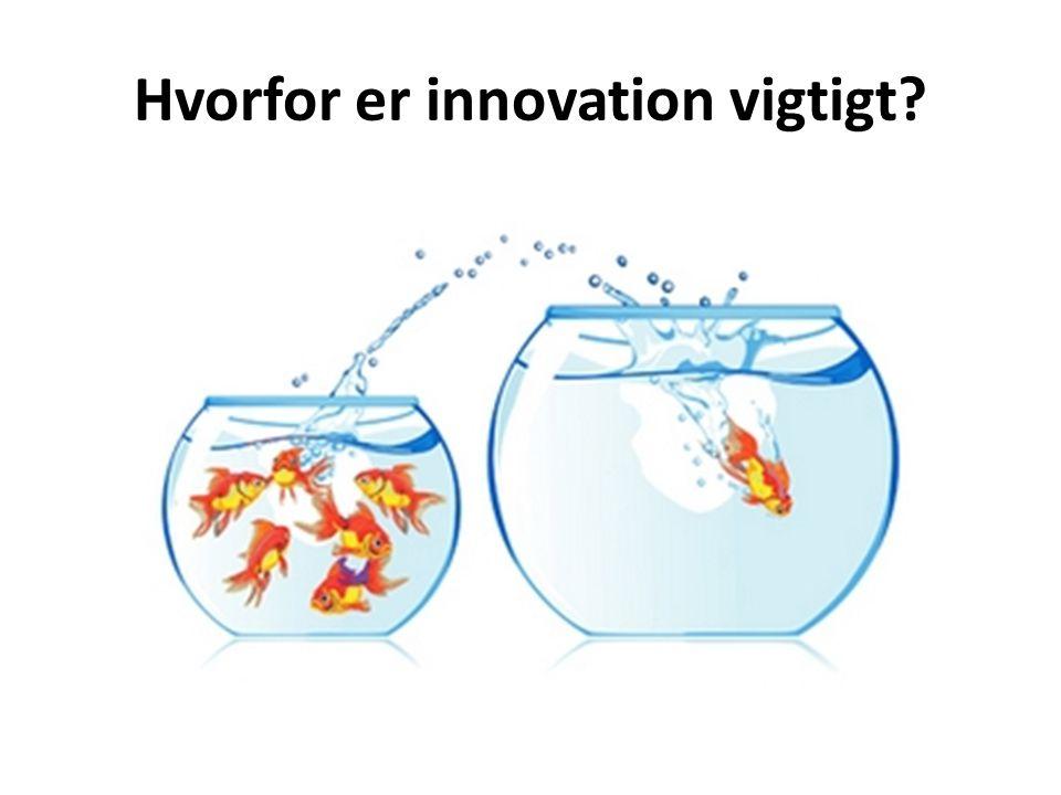 Hvorfor er innovation vigtigt