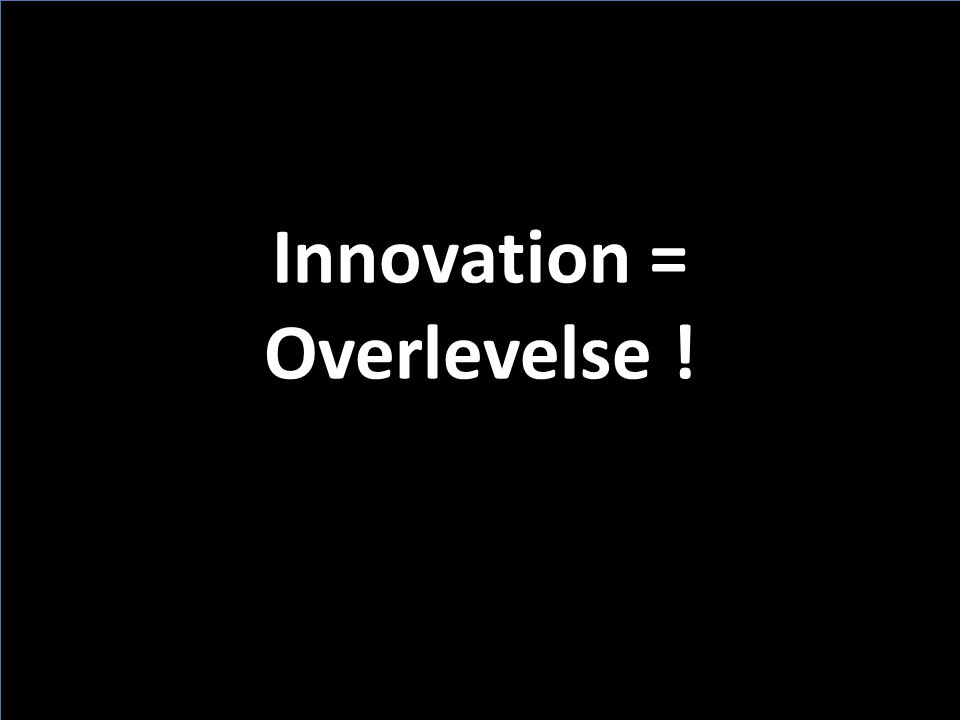 Innovation = Overlevelse !