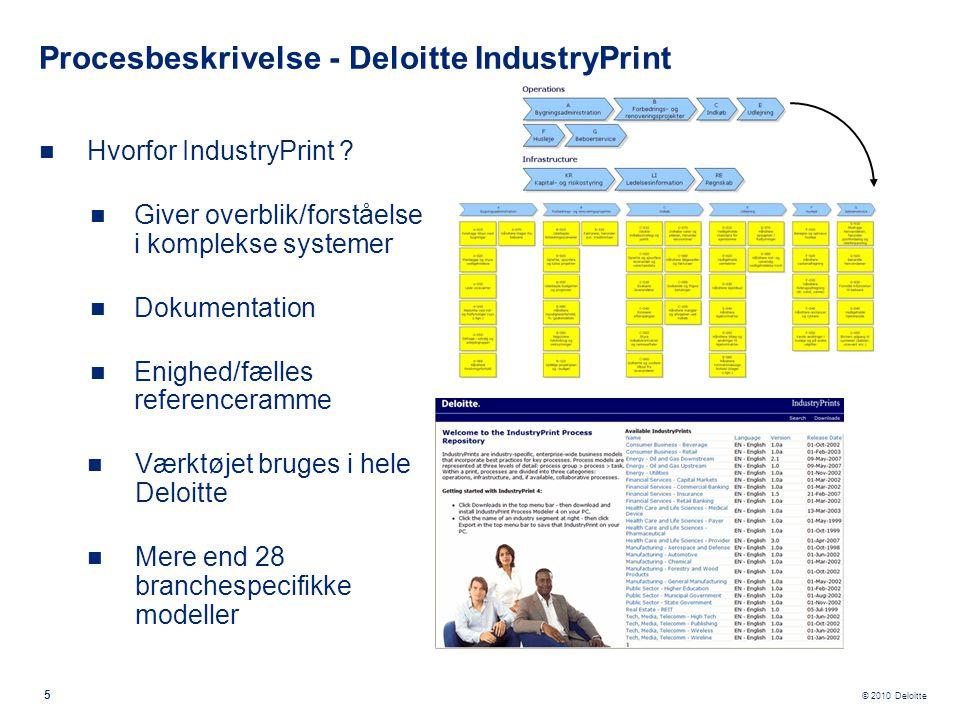 Procesbeskrivelse - Deloitte IndustryPrint