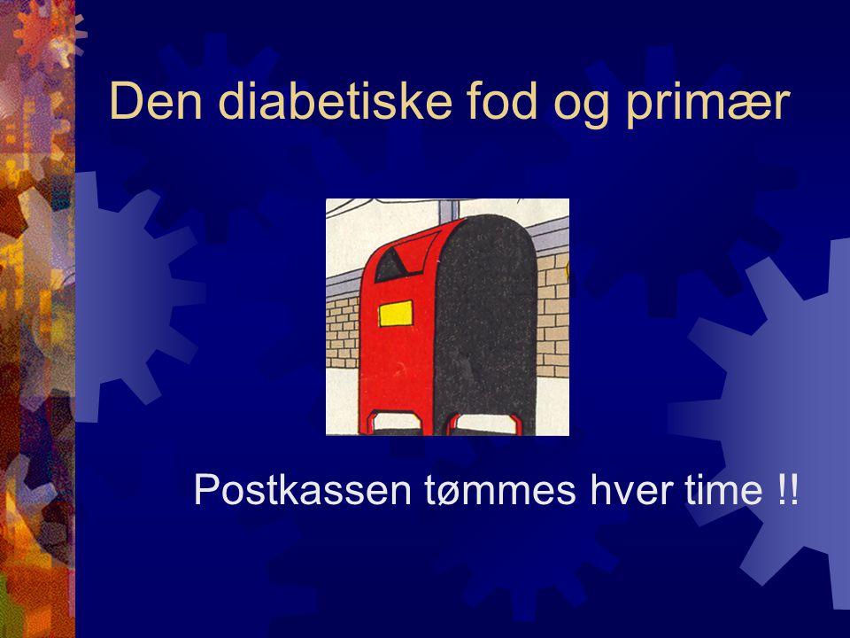 Den diabetiske fod og primær