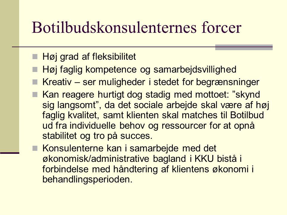 Botilbudskonsulenternes forcer
