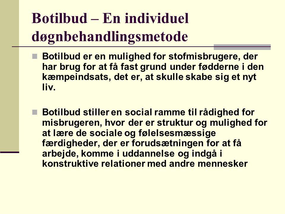 Botilbud – En individuel døgnbehandlingsmetode