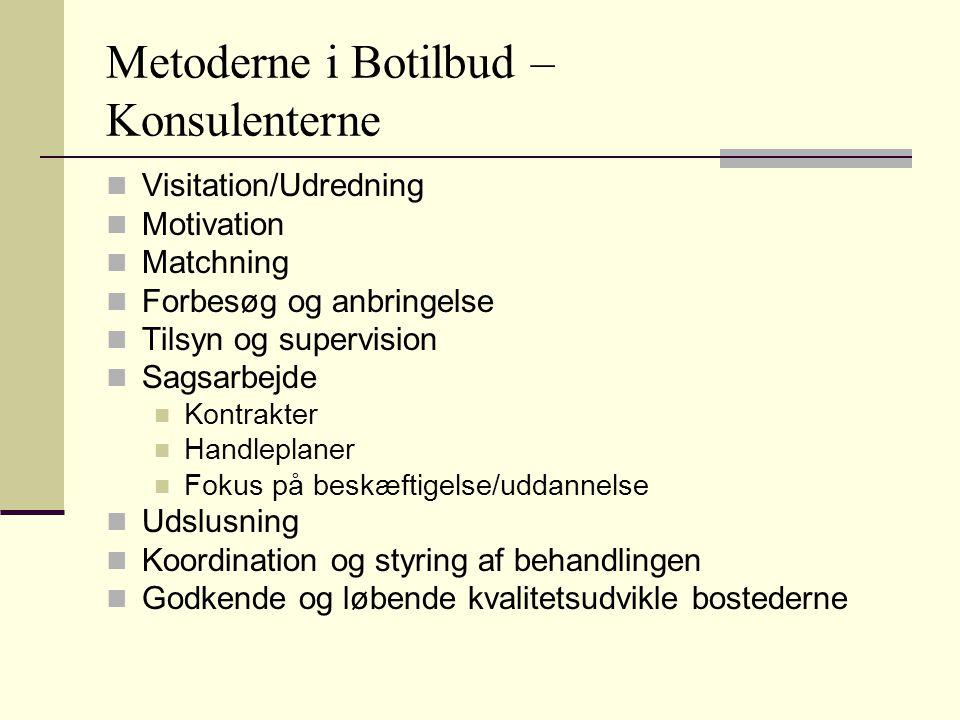 Metoderne i Botilbud – Konsulenterne