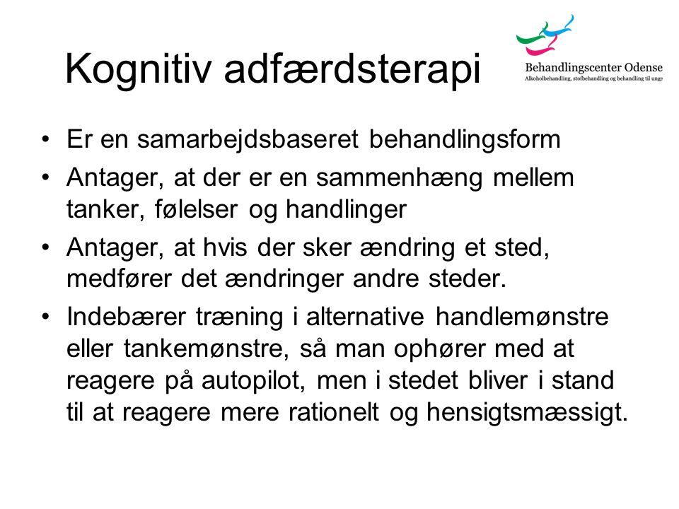 Kognitiv adfærdsterapi