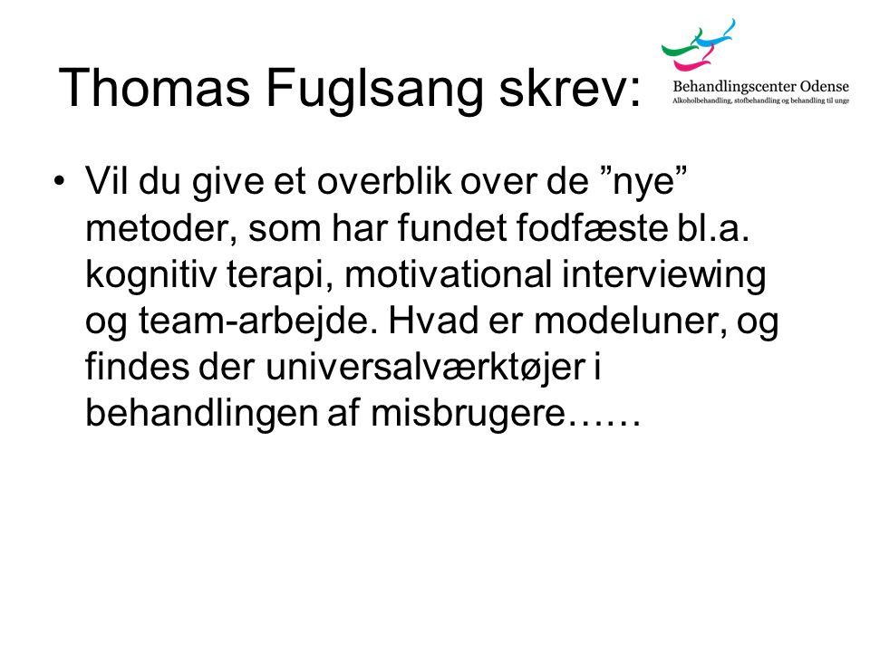 Thomas Fuglsang skrev: