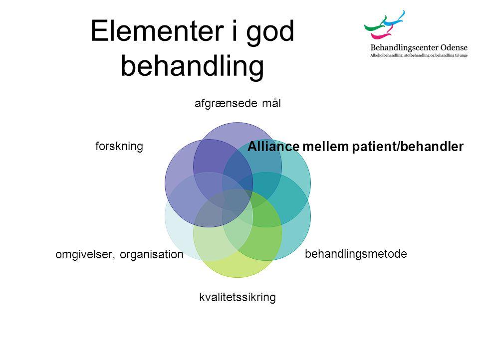 Elementer i god behandling