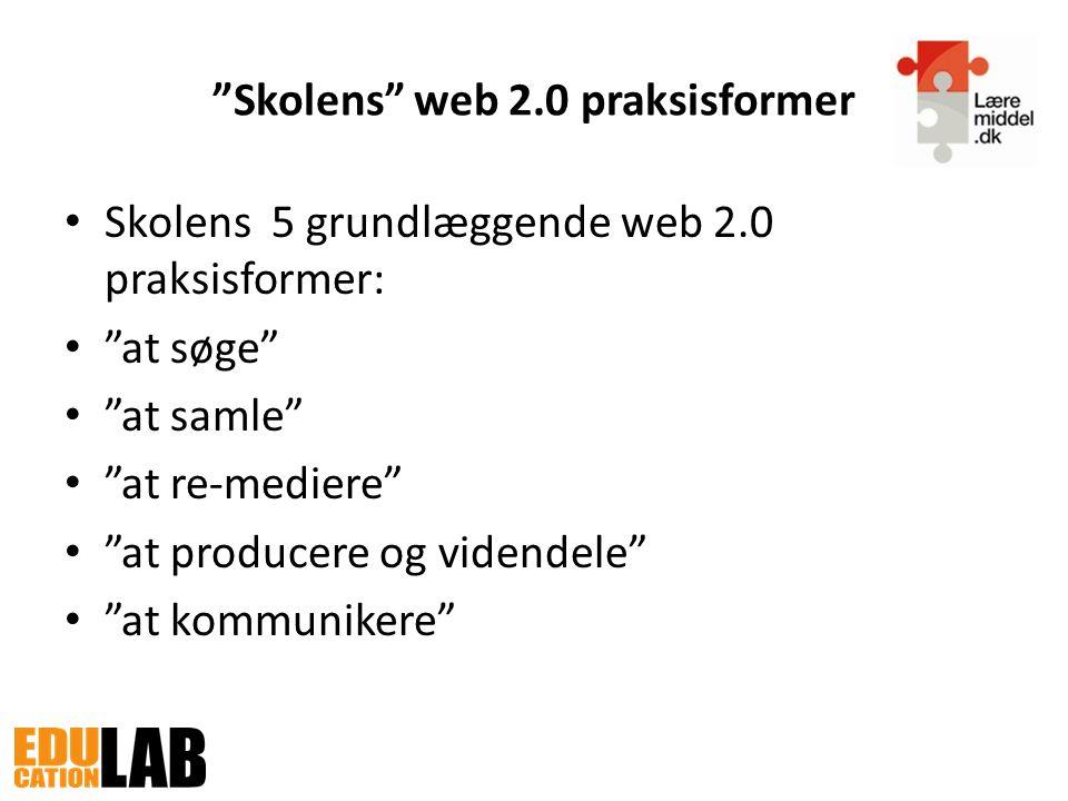 Skolens web 2.0 praksisformer