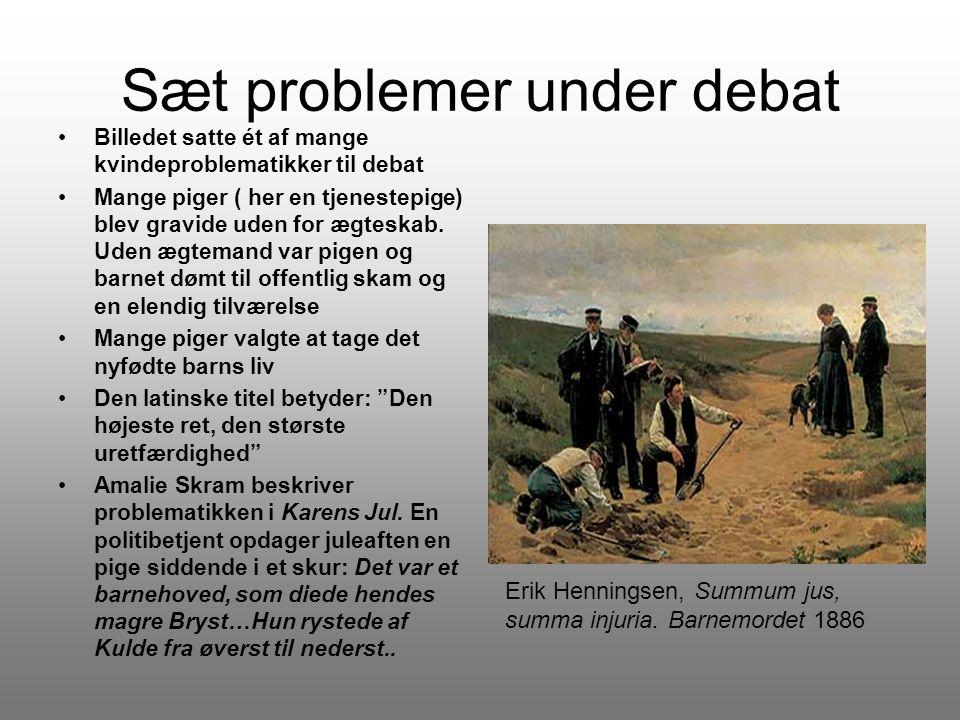 Sæt problemer under debat
