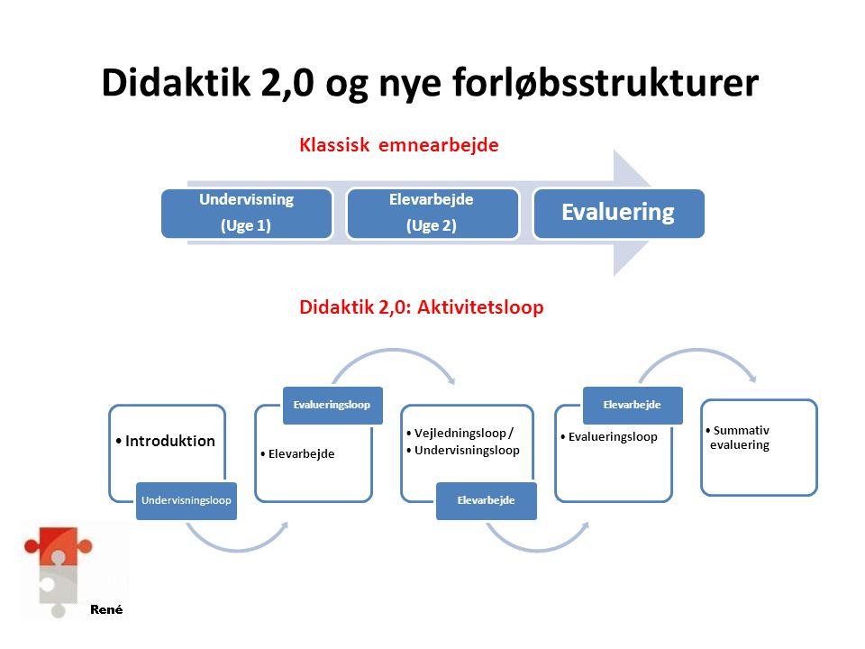 Didaktik 2,0 og nye forløbsstrukturer