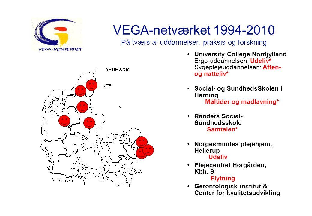 VEGA-netværket 1994-2010 På tværs af uddannelser, praksis og forskning