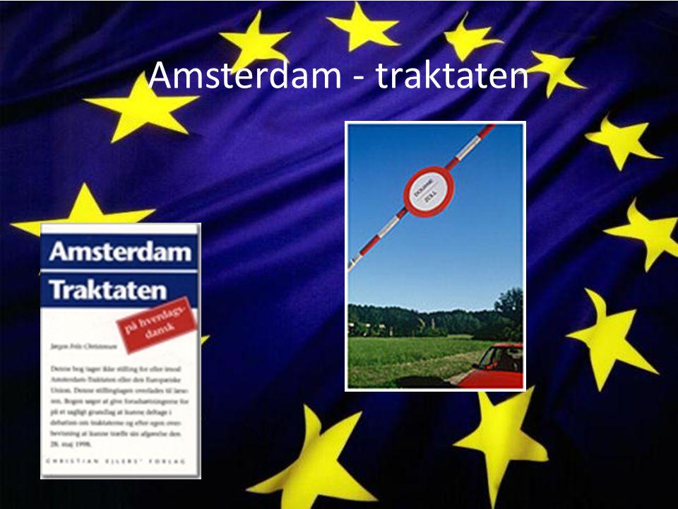 Amsterdam - traktaten