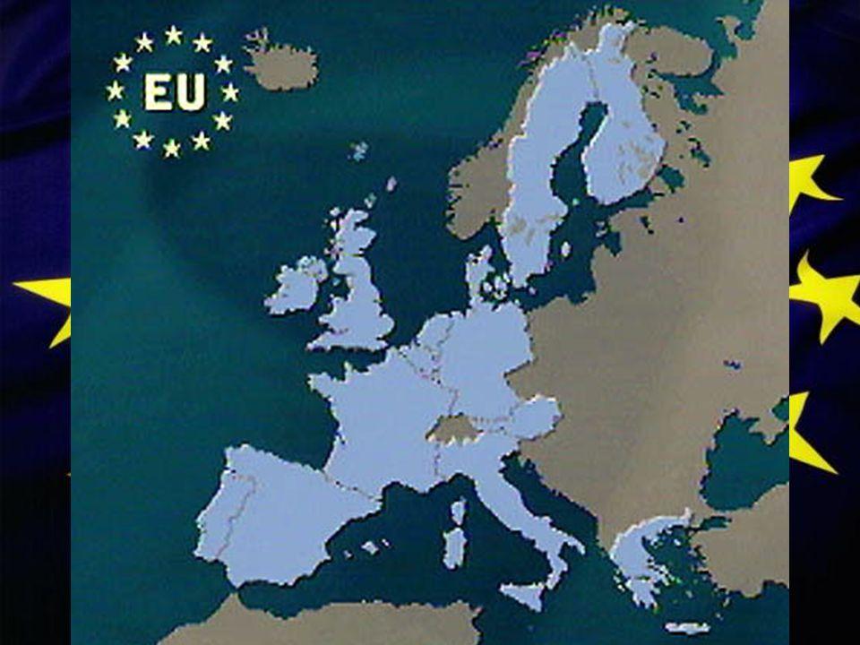 Dette er et kort over EU medlemslandene.