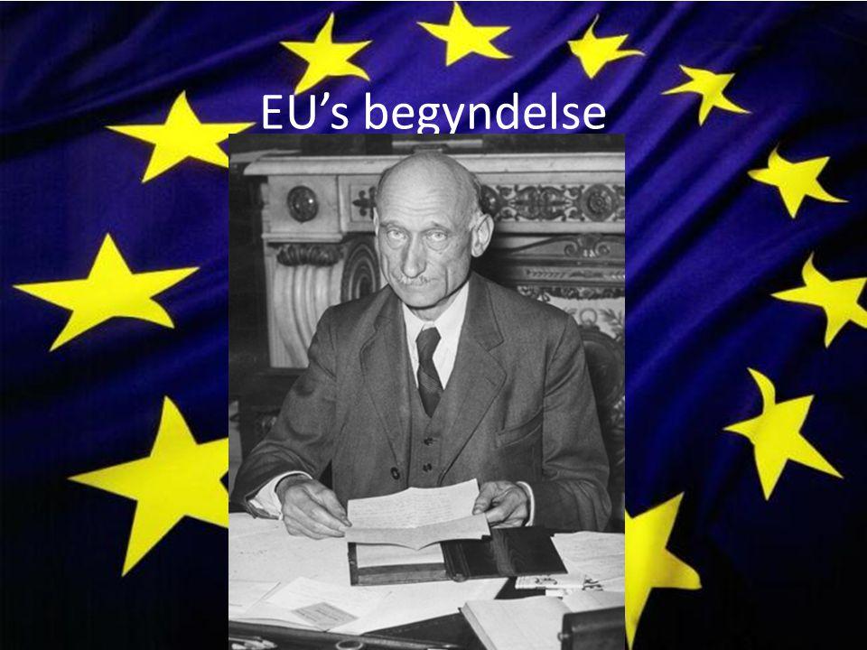 EU's begyndelse
