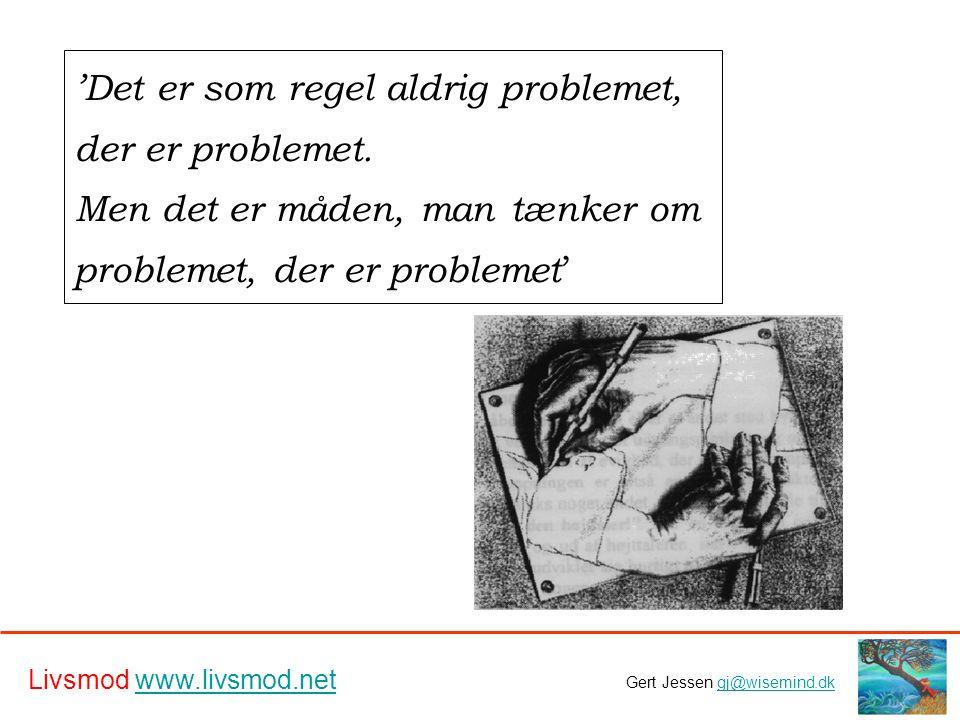 'Det er som regel aldrig problemet, der er problemet.