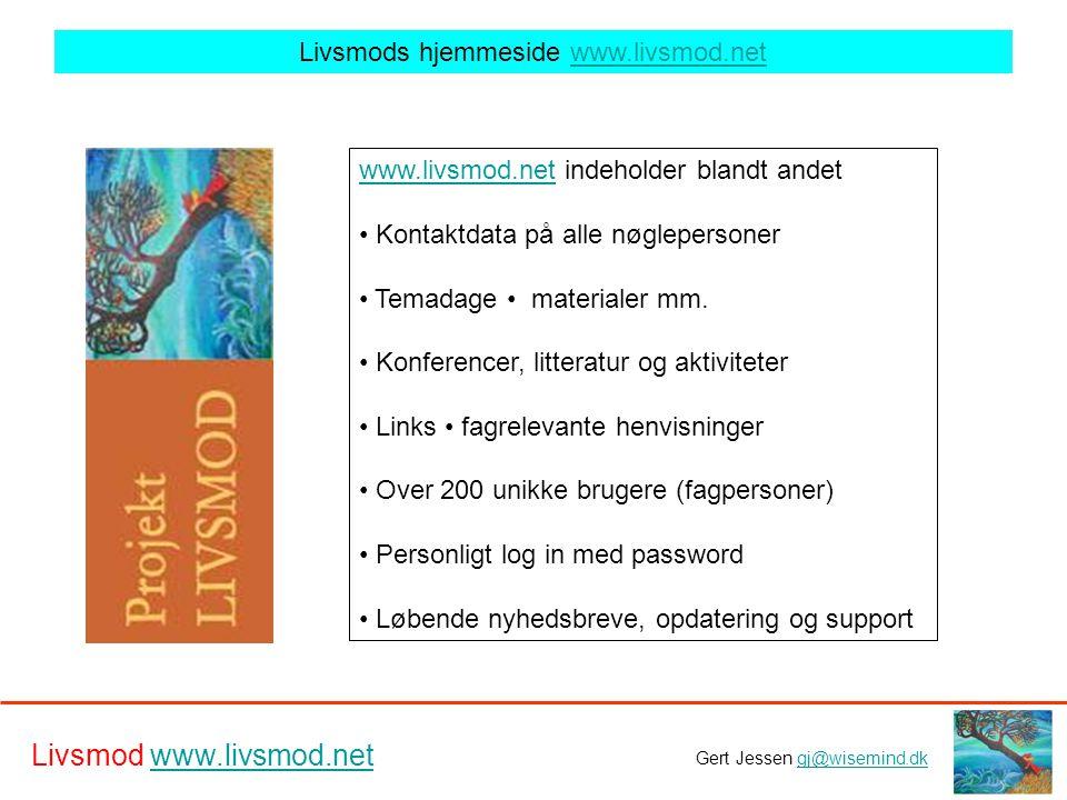 Livsmods hjemmeside www.livsmod.net