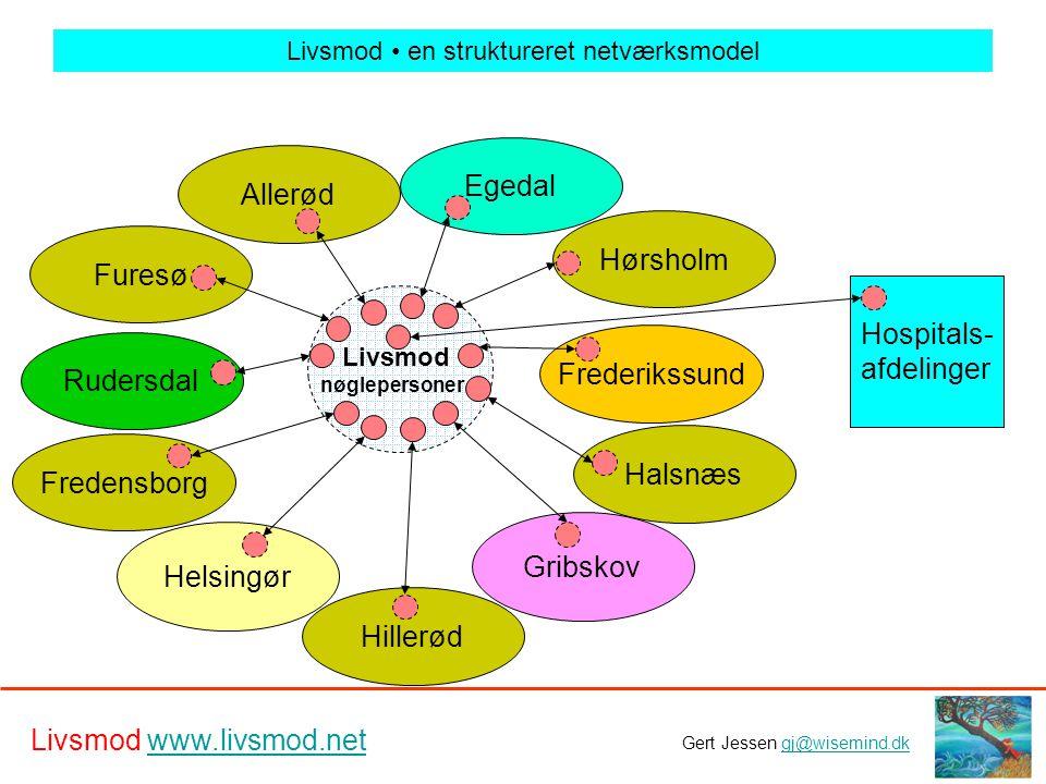 Livsmod • en struktureret netværksmodel