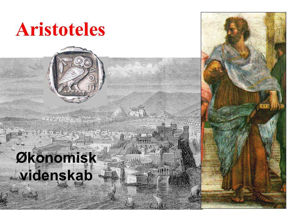 Aristoteles Økonomisk videnskab