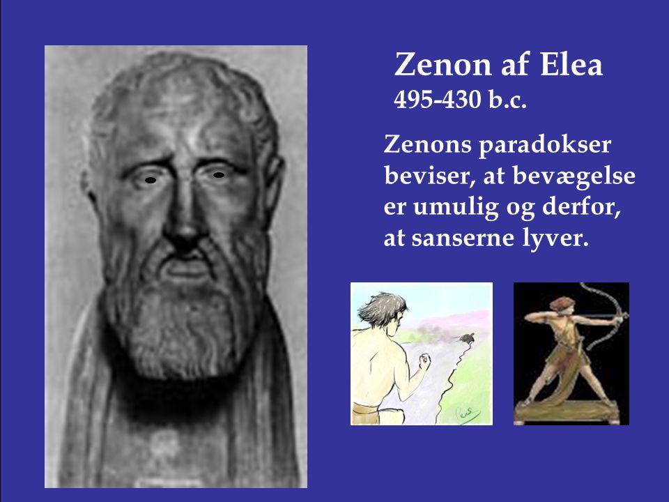 Zenon af Elea 495-430 b.c.