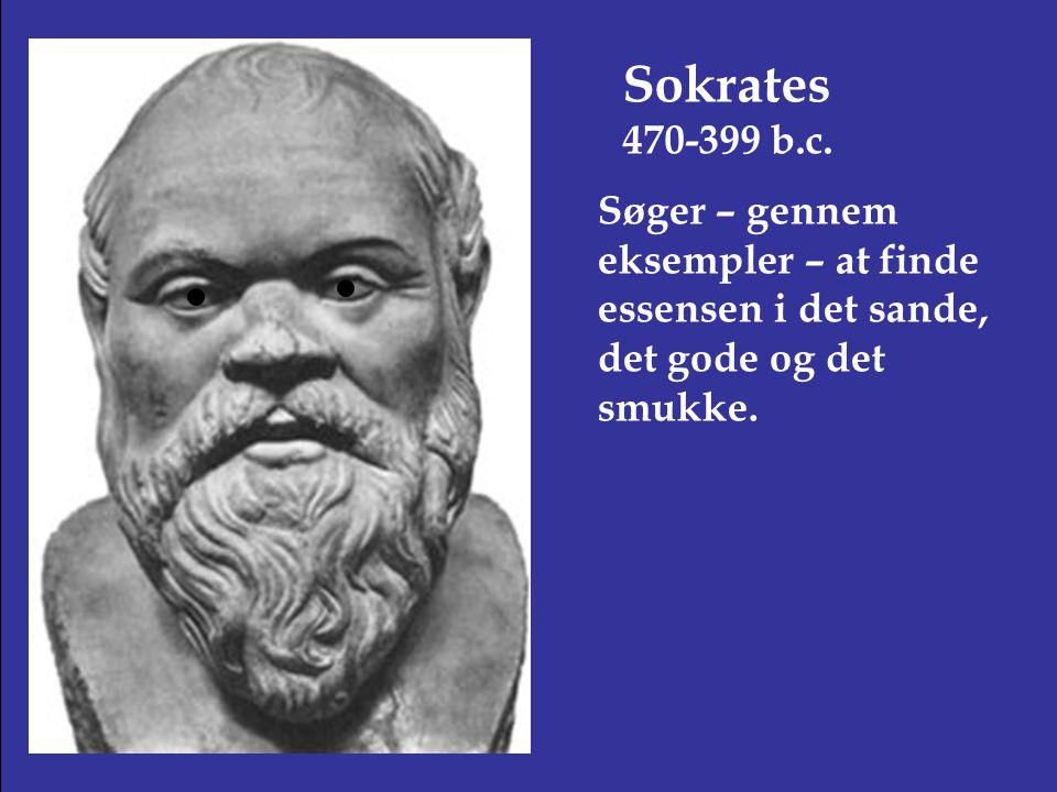 Sokrates 470-399 b.c.