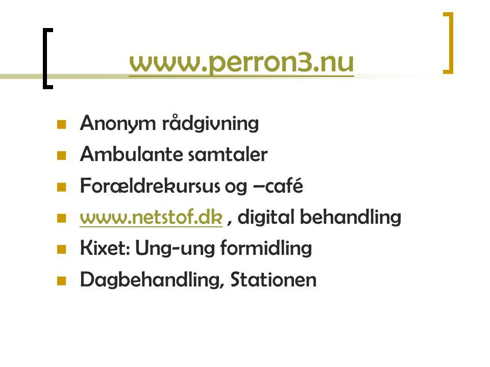 www.perron3.nu Anonym rådgivning Ambulante samtaler