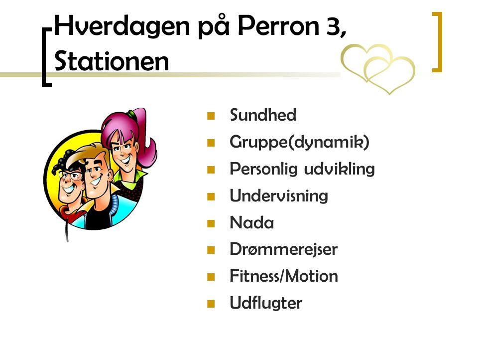 Hverdagen på Perron 3, Stationen
