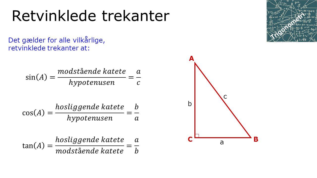Retvinklede trekanter