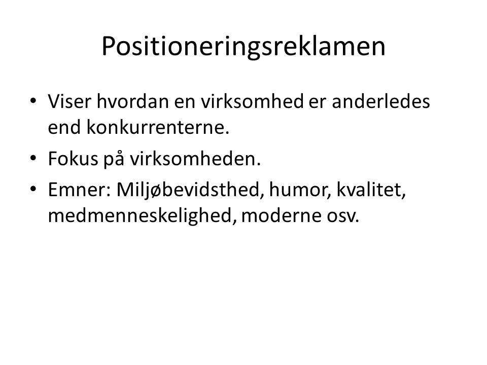 Positioneringsreklamen