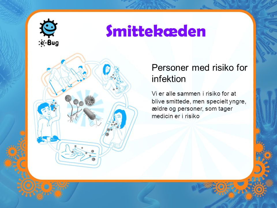 Smittekæden Personer med risiko for infektion