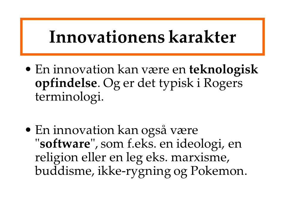 Innovationens karakter