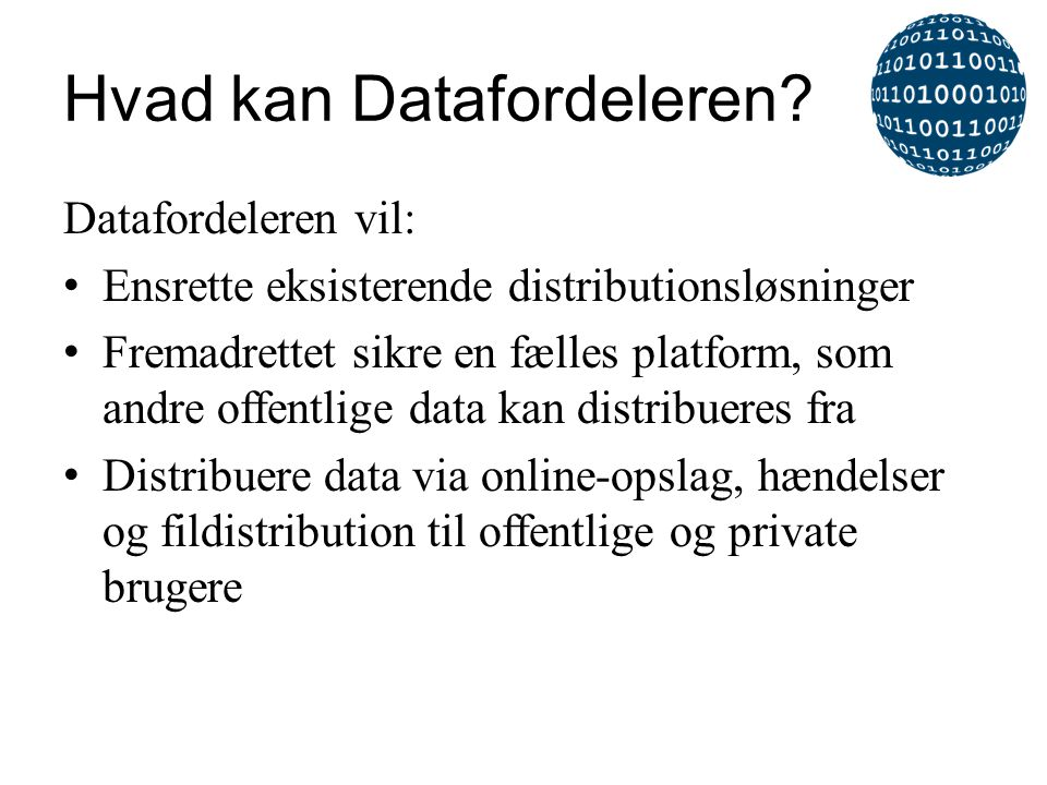 Hvad kan Datafordeleren
