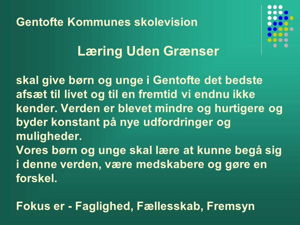 Gentofte Kommunes skolevision