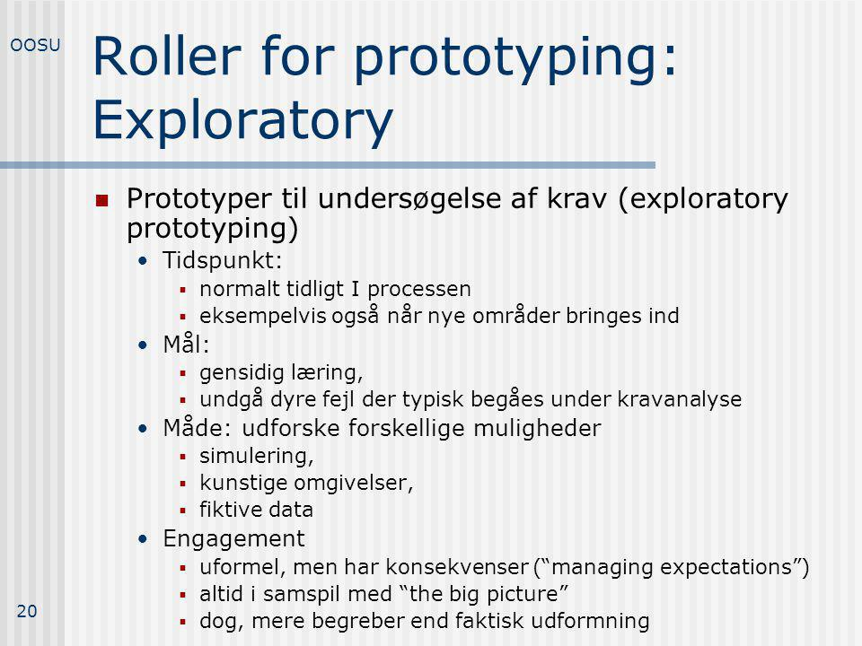 Roller for prototyping: Exploratory