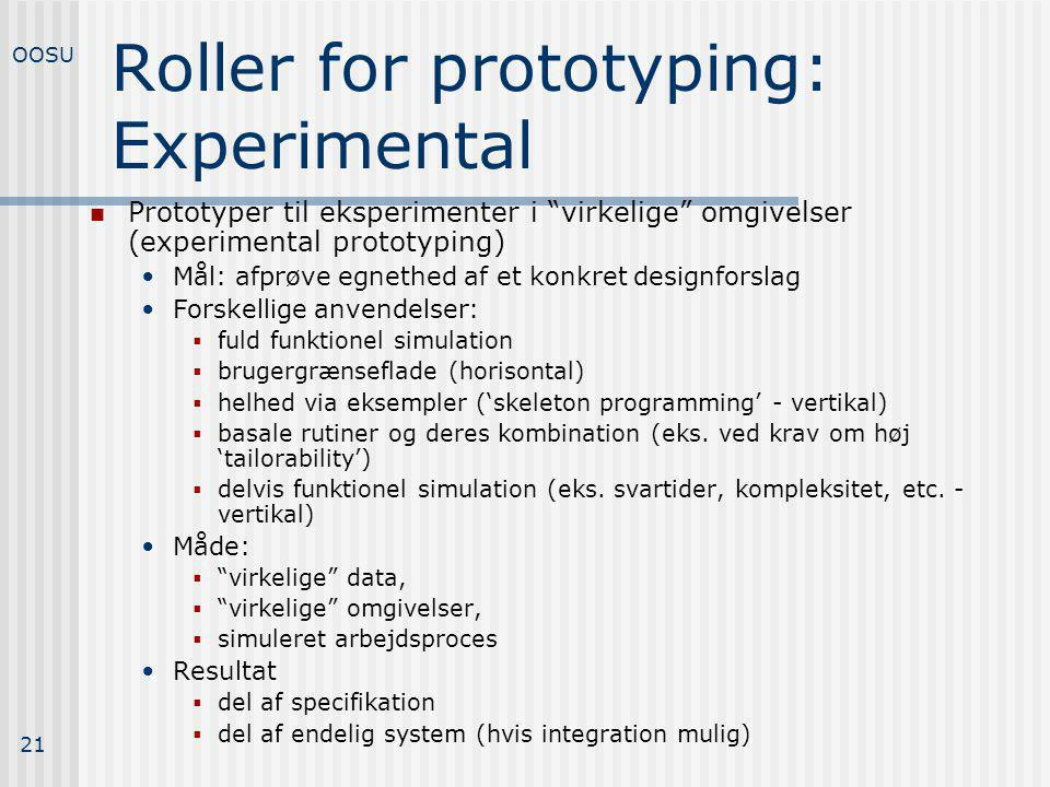 Roller for prototyping: Experimental
