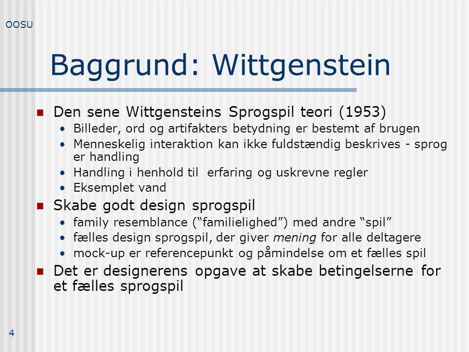 Baggrund: Wittgenstein