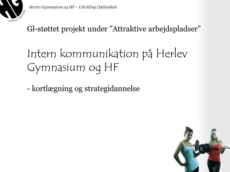 Intern kommunikation på Herlev Gymnasium og HF
